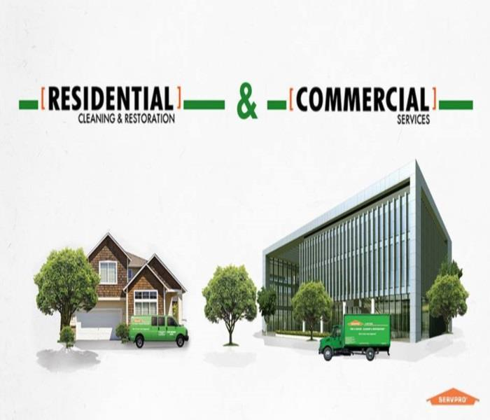SERVPRO of Chemung & Schuyler Counties specialize in Residential and Commercial losses.